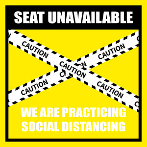 Social Distancing Signs - Restaurant and Retail Kit