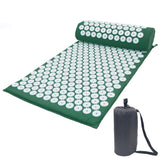 Lotus Acupuncture Massager Cushion Relieve Stress Back Pain Acupressure Mat Pillow Massage Yoga Spike Mat For Body Relaxation