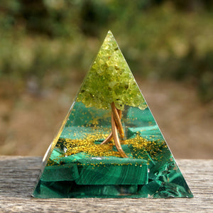A Tree of Life Orgone Pyramid