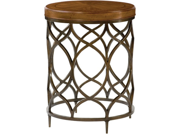HAMMARY ROUND LAMP TABLE