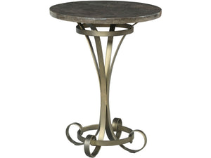 HAMMARY LOUISE ROUND LAMP TABLE