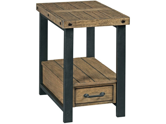 HAMMARY - HAMILTON WORKBENCH CHAIRSIDE - WOOD/METAL