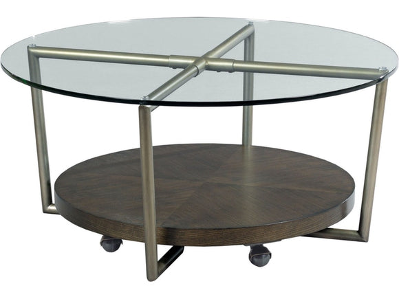 HAMMARY ETON ROUND COCKTAIL TABLE
