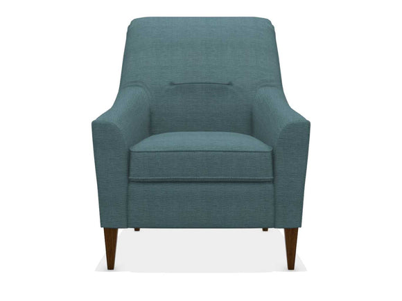 BARISTA FABRIC STATIONARY CHAIR - TEAL