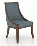 CANADEL CLASSIC ROUND DINING SET - WASHED COGNAC/ TEAL