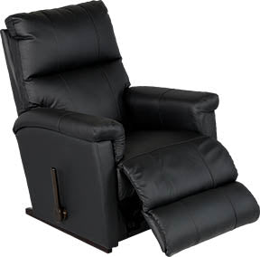 ETHAN Rocker Recliner - Black Leather