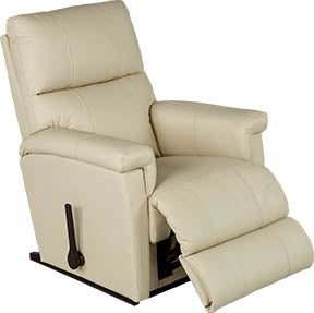 ETHAN Rocker Recliner - Cream Leather