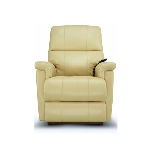 ETHAN Power Rocker Recliner - Black Leather