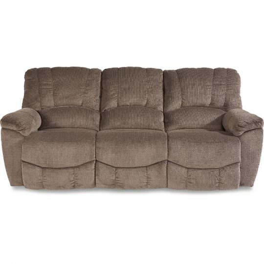 HAYES Reclining Fabric Sofa - Taupe