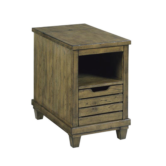 Hammary Elm Ridge Charging Chairside Table