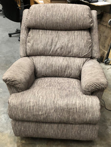 ASTOR FABRIC POWER ROCKER RECLINER - GOLD