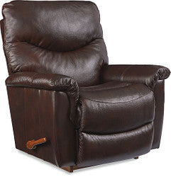 JAMES LEATHER WALL RECLINER - BROWN