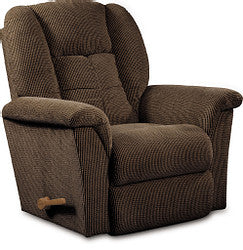 JASPER FABRIC ROCKER RECLINER - BROWN