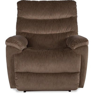 MARCO Leather Power Rocker Recliner - Taupe