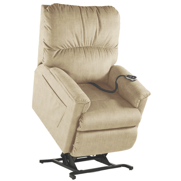 La-Z-Boy Margaret Power Lift Chair fabric D145036, colour cream