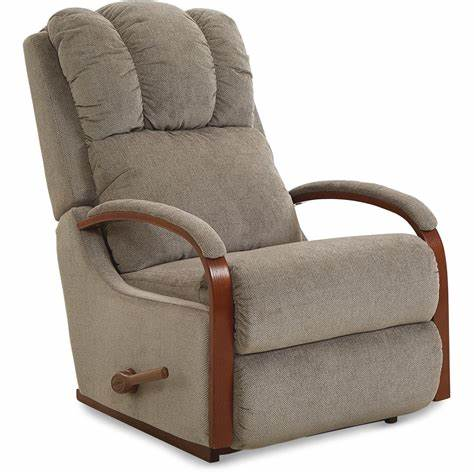 HARBOR FABRIC ROCKER RECLINER - BROWN
