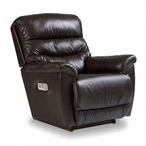 JOSHUA LEATHER POWER WALL RECLINER - BROWN