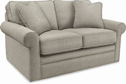COLLINS FABRIC LOVESEAT - LIGHT GREY
