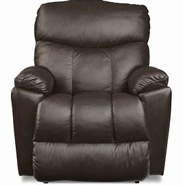 MORRISON LEATHER ROCKER RECLINER - BROWN