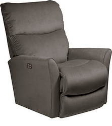 ROWAN FABRIC POWER WALL RECLINER - CHARCOAL