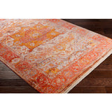 "SURYA ORANGE/RED EPHESIANS RUG -2'7"" x 4'11"""