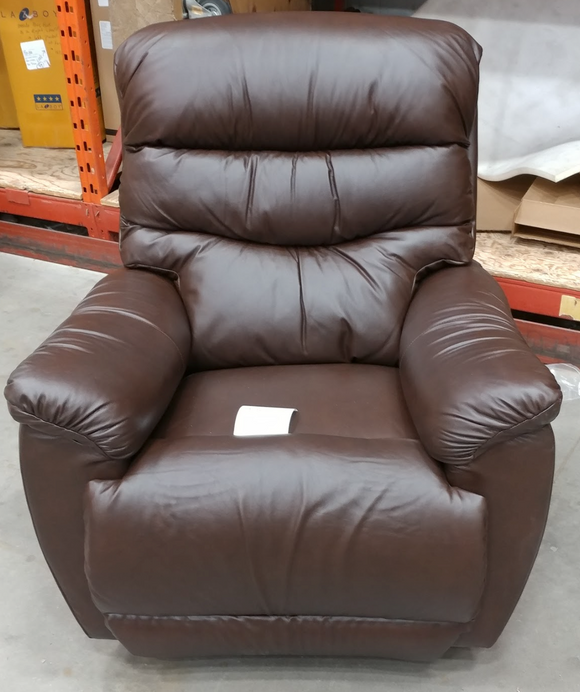 JOSHUA PowerReclinerXR+ Reclina-Rocker Recliner - Leather - Brown