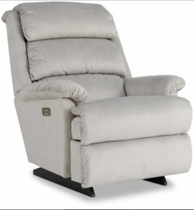 ASTOR POWER ROCKER RECLINER W/ LUMBAR AND HEADREST - GOLD