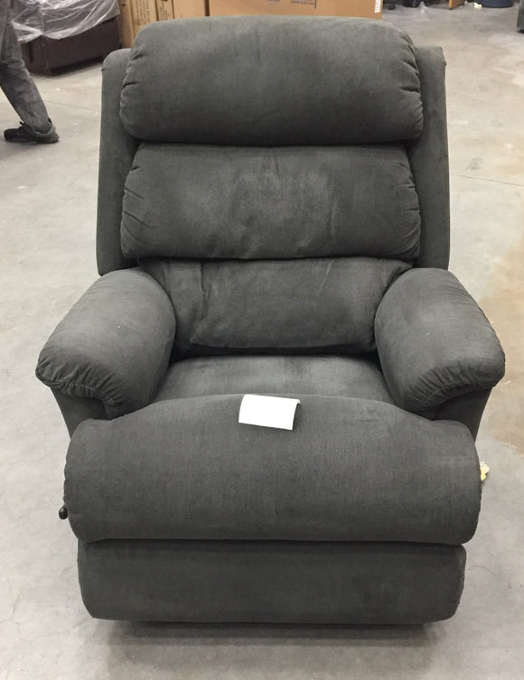 ASTOR FABRIC WALL RECLINER - GREY