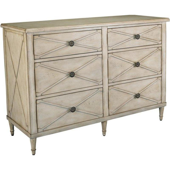 HAMMARY VINTAGE CHEST - CREAM