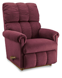 VAIL FABRIC ROCKER RECLINER - SANGRIA