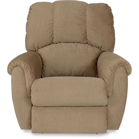 CONNER Power Rocker Fabric Recliner - Brown