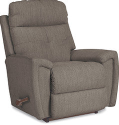 DOUGLAS FABRIC WALL RECLINER - SMOKE
