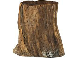 HAMMARY TREE TRUNK ACCENT TABLE