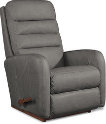 FORUM LEATHER WALL RECLINER - GREY