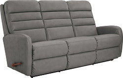 FORUM LEATHER RECLINING SOFA - DARK CHOCOLATE