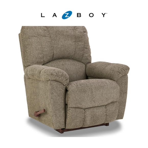 HAYES Fabric Rocker Recliner - Taupe