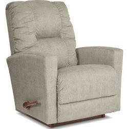 CASEY FABRIC ROCKER RECLINER - DOVE GREY