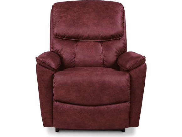 KIPLING Leather Rocker Recliner - Red
