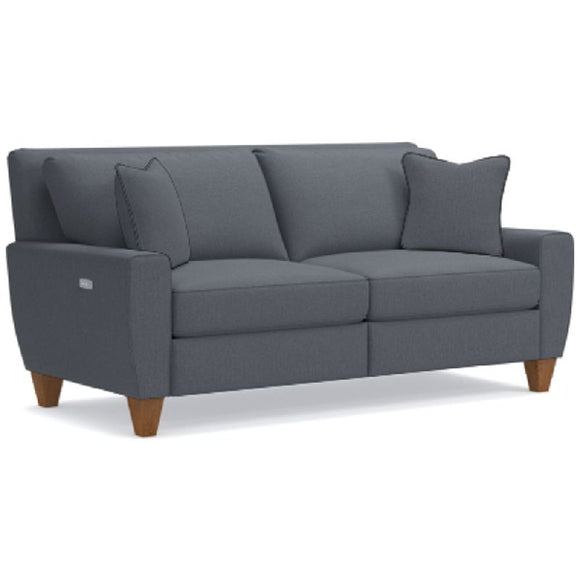 EDIE FABRIC POWER RECLINING SOFA - GREY