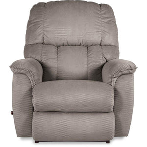 LAWRENCE Fabric Rocker Recliner - Grey