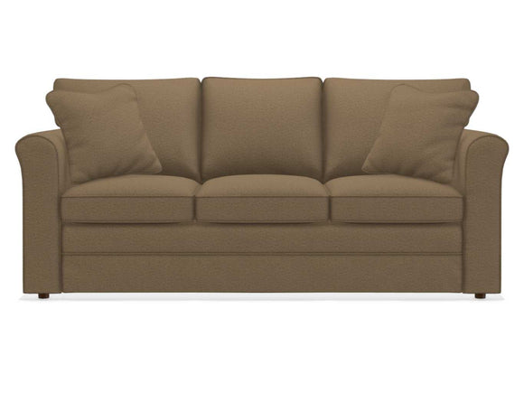 LEAH Fabric Supreme-comfort Queen Sleep Sofa - Sand