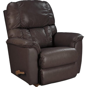 LAWRENCE Leather Reclina-way Recliner - Brown