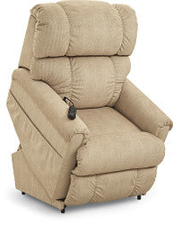 PINNACLE FABRIC POWER LIFT CHAIR - KHAKI