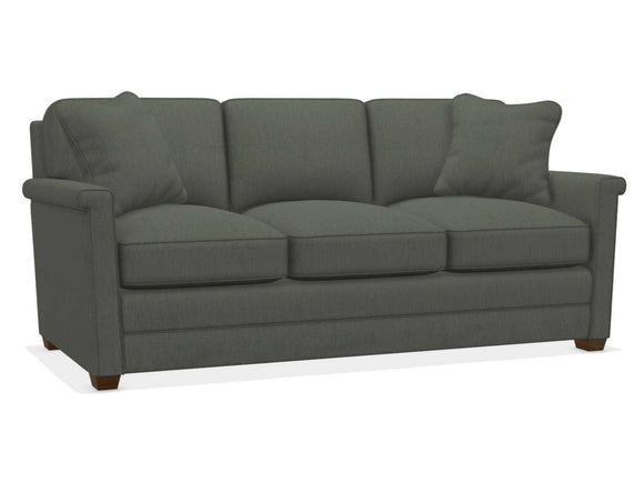 BEXLEY FABRIC STATIONARY SOFA - GREY