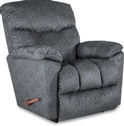 MORRISON FABRIC ROCKER RECLINER - BLUE