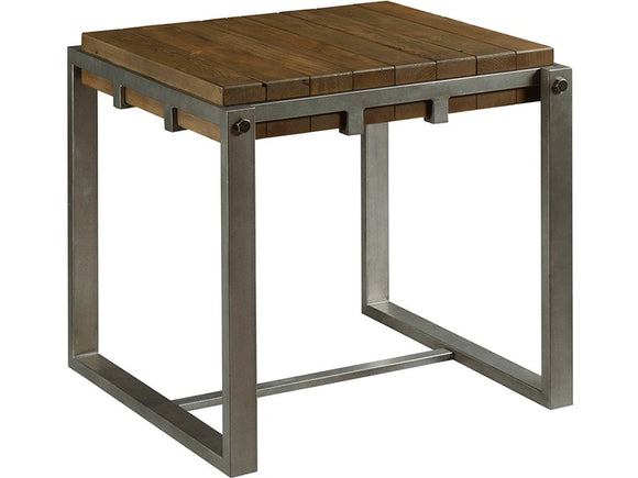 HAMMARY INTERMIX END TABLE - WOOD/METAL