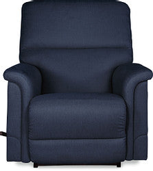 OSCAR FABRIC ROCKER RECLINER - DENIM