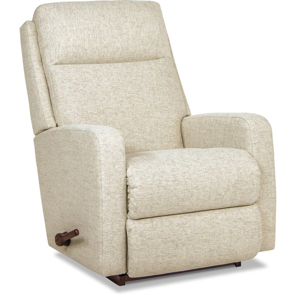 FINLEY FABRIC ROCKER RECLINER  - CREAM