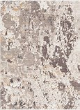 SURYA CRESCENDO 5' 3 X 7'6 AREA CARPET - CREAM/TAUPE/GREY