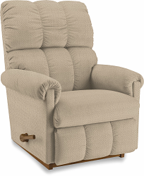 VAIL FABRIC ROCKER RECLINER - CREAM
